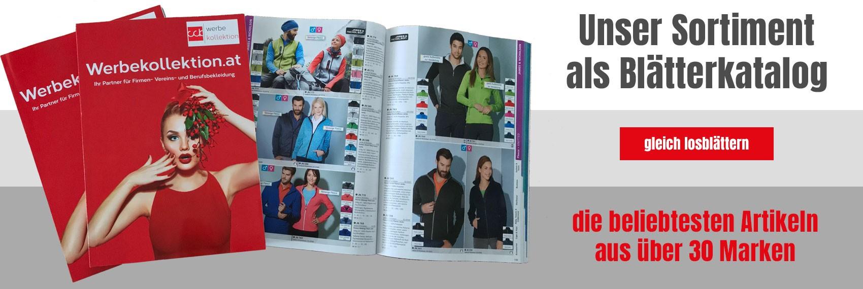 Alle Textilien und Taschen als Blätterkatalog bei Werbekollektion