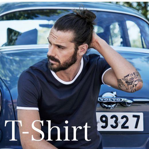 T-Shirts bei Werbekollektion